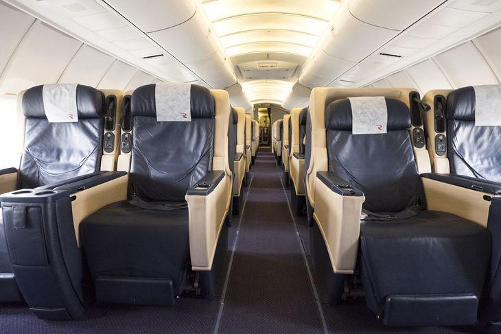 Бизнес-класс в самолете а/к Россия